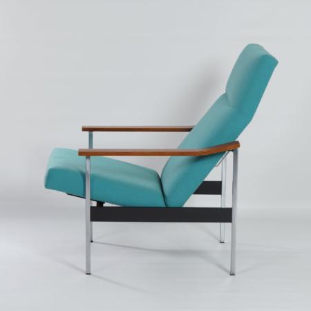 Verstelbare Gispen 1425 Fauteuil van A.R. Cordemeyer, 1960s | Opnieuw Bekleed