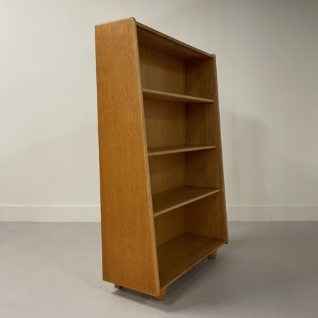 BE02 Boekenkast (Eikenserie) van Cees Braakman voor Pastoe, 1950s