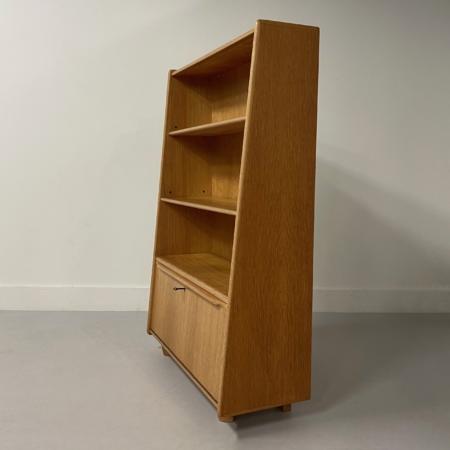 BE03 Boekenkast (Eikenserie) van Cees Braakman voor Pastoe, 1950s