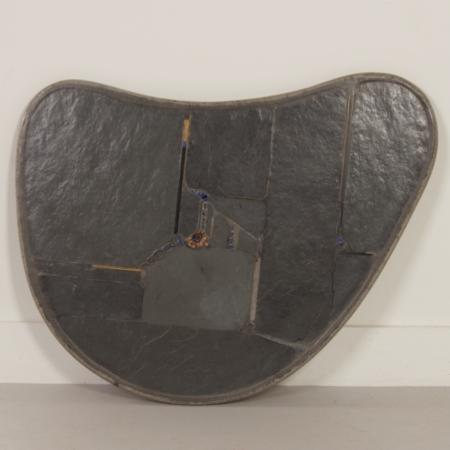 Niervormige Natuurstenen Salontafel van Paul Kingma, 1995