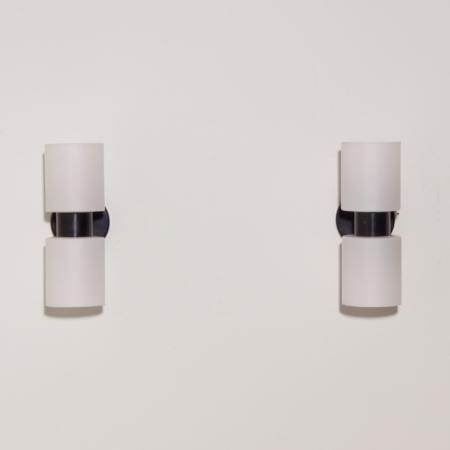 """Paar """"Present"""" Wandlampen C1600 van J.W. Boxman voor Raak, 1960s"""