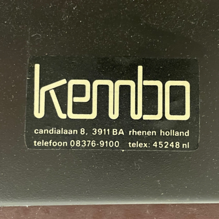Grote Eet- of Vergadertafel van Just Meijer voor Kembo, 1960s
