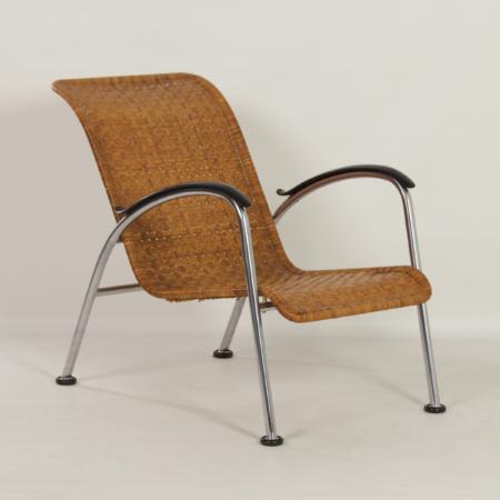 Gispen 404 Ligstoel van W.H. Gispen voor Gispen, 1950s