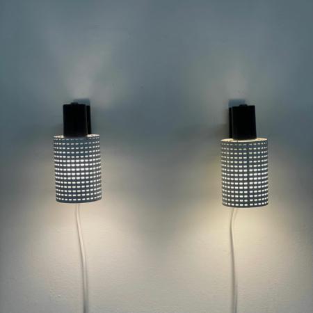 Set Fiesta Wandlampen van H. Busquet voor Hala, 1960s