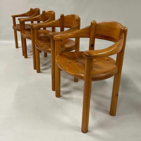 Deense Eetkamerstoelen van Rainer Daumiller voor Hirtshals Sawmill, 1970s | Set van 4