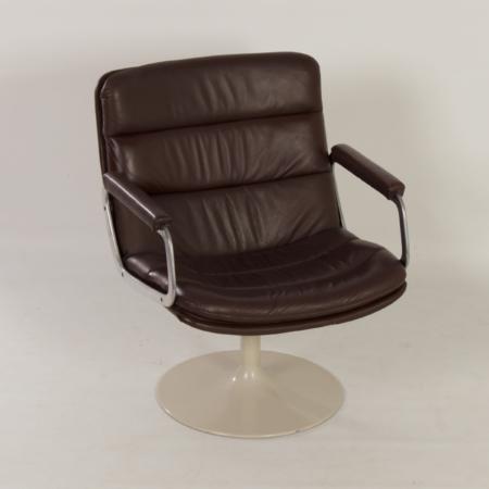 Vintage Draaistoel 798 van Geoffrey Harcourt voor Artifort, 1960s