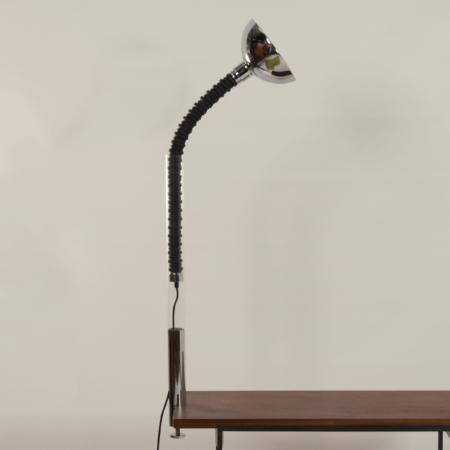 Chromen Tafellamp van Cosack, 1970s | Space Age