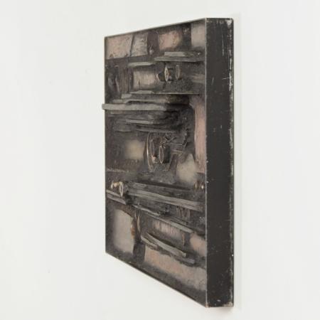 Unieke Wandsculptuur van Paul Kingma, 1981s